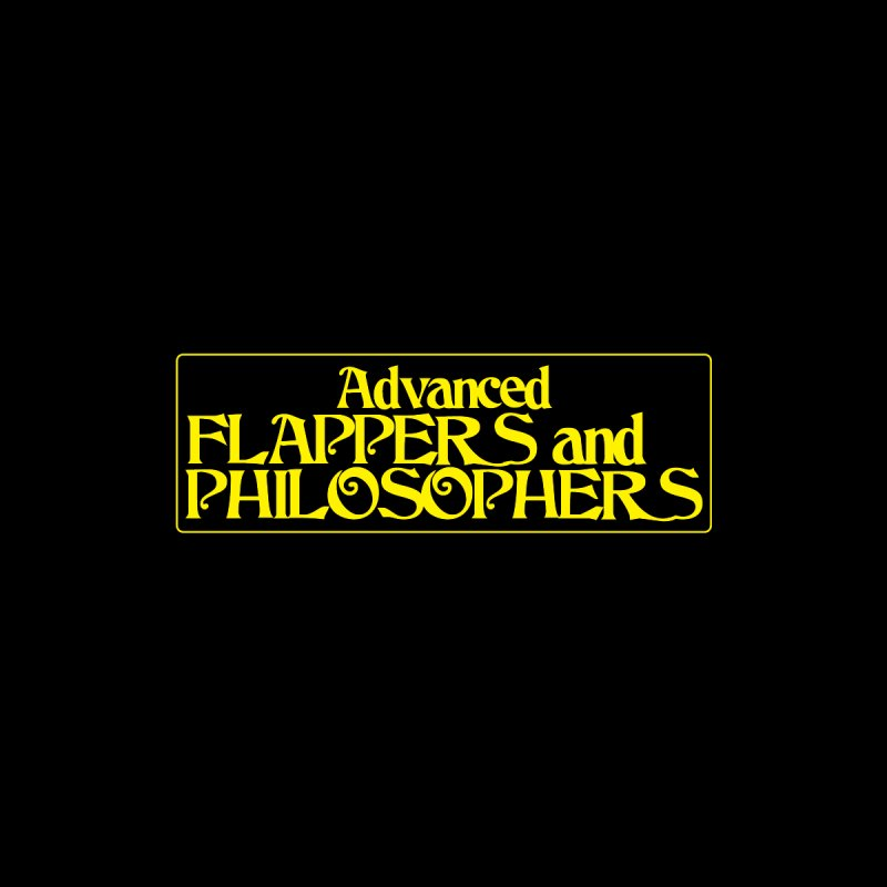 Advanced Flappers and Philosophers Men's T-Shirt by pgttcm's Artist Shop