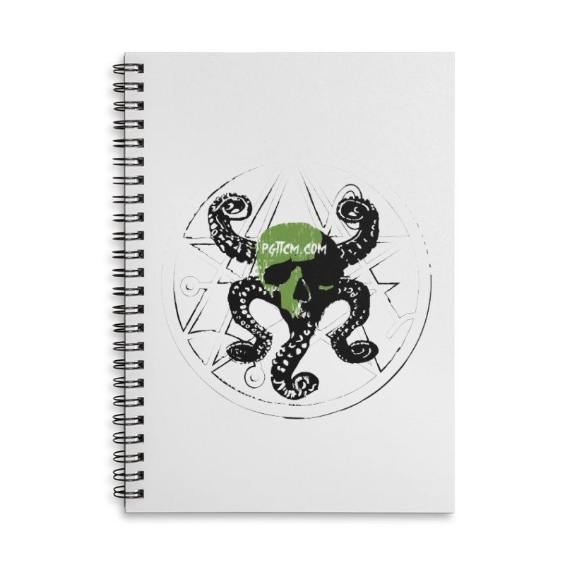 pgttcm 2018 Accessories Lined Spiral Notebook by pgttcm's Artist Shop