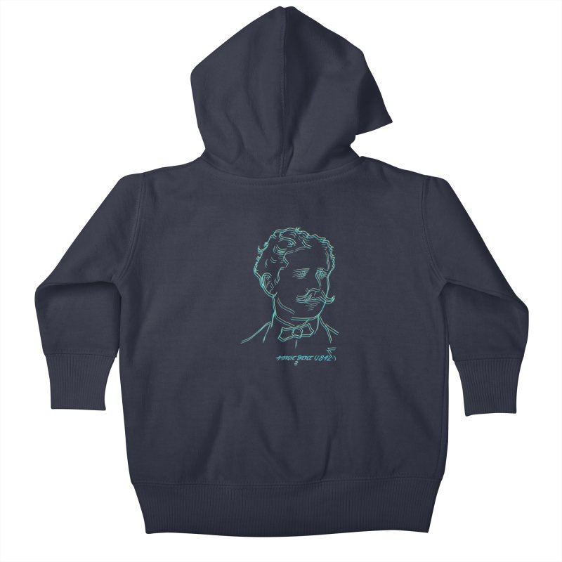 Ambrose B Kids Baby Zip-Up Hoody by pgttcm's Artist Shop