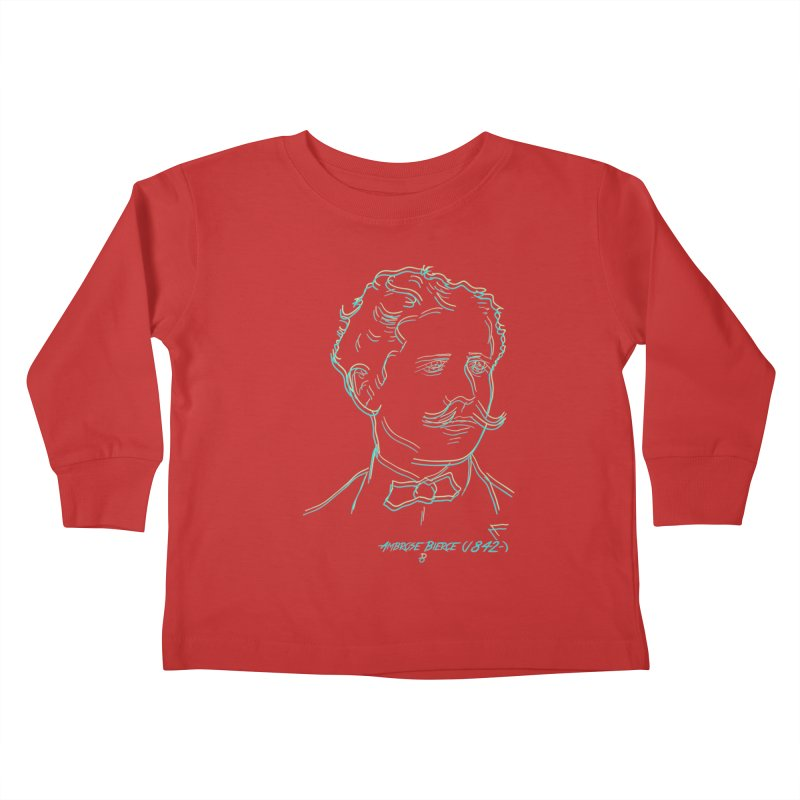 Ambrose B Kids Toddler Longsleeve T-Shirt by pgttcm's Artist Shop