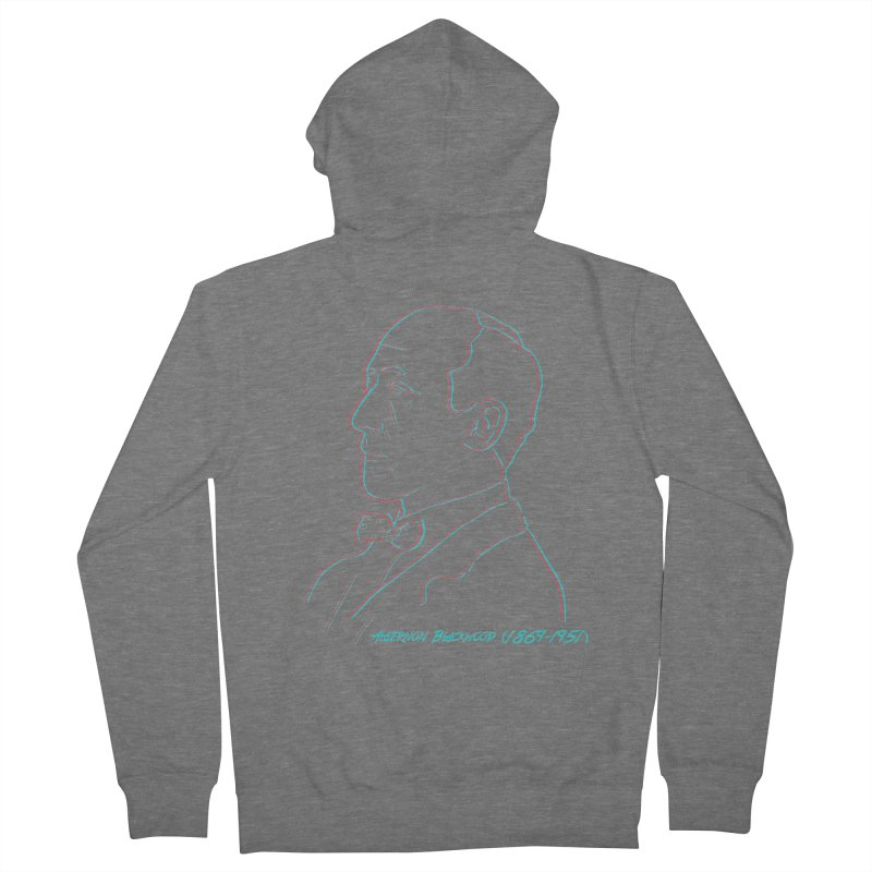 A Blackwood Men's French Terry Zip-Up Hoody by pgttcm's Artist Shop