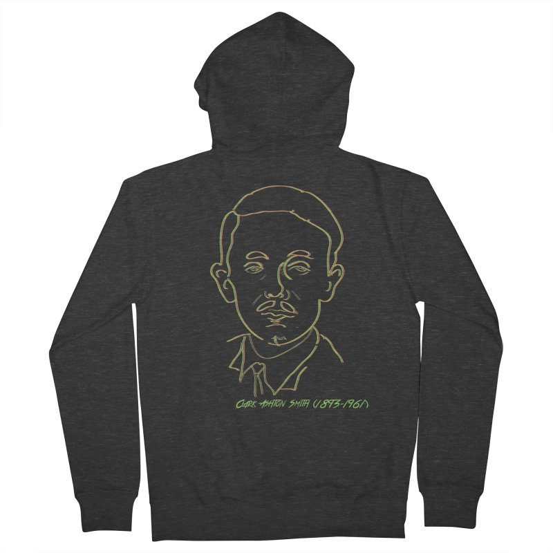 Clark Ashton Smith Men's French Terry Zip-Up Hoody by pgttcm's Artist Shop