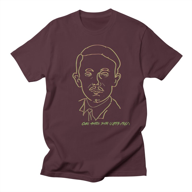 Clark Ashton Smith Men's Regular T-Shirt by pgttcm's Artist Shop
