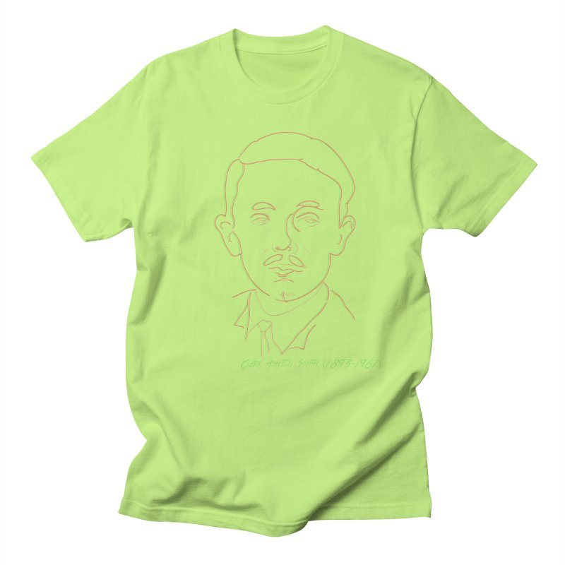 Clark Ashton Smith Men's Regular T-Shirt by pgttcm's Artist Shop