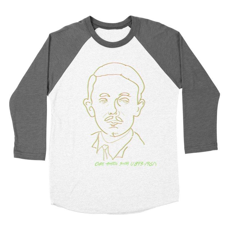 Clark Ashton Smith Women's Baseball Triblend Longsleeve T-Shirt by pgttcm's Artist Shop
