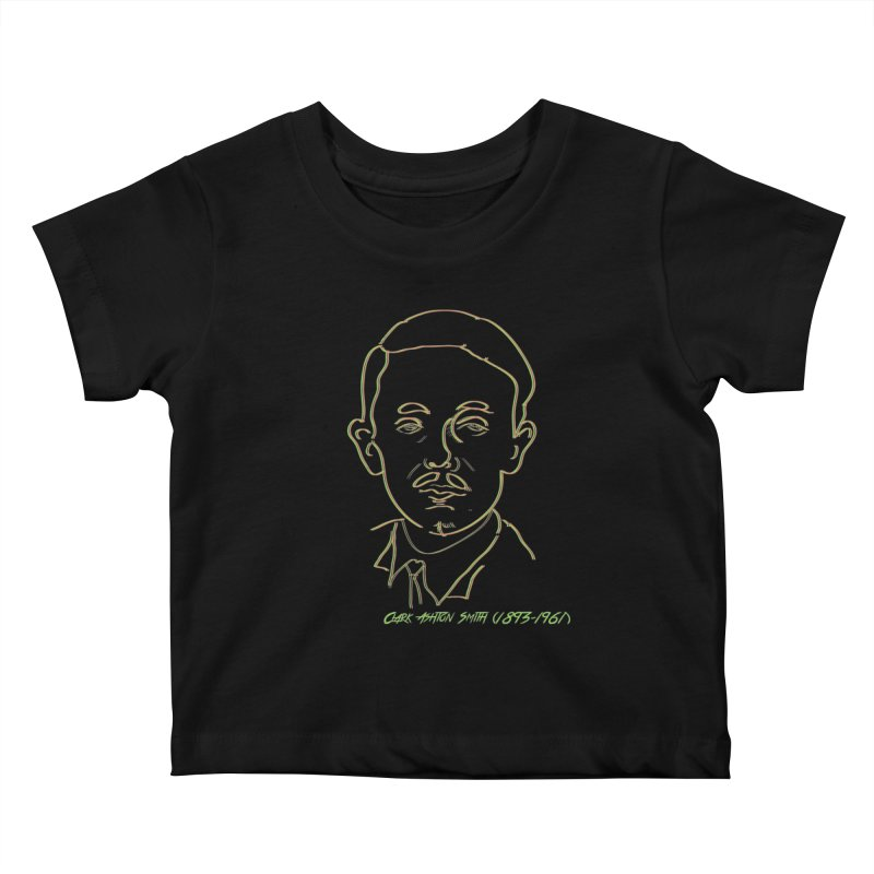 Clark Ashton Smith Kids Baby T-Shirt by pgttcm's Artist Shop