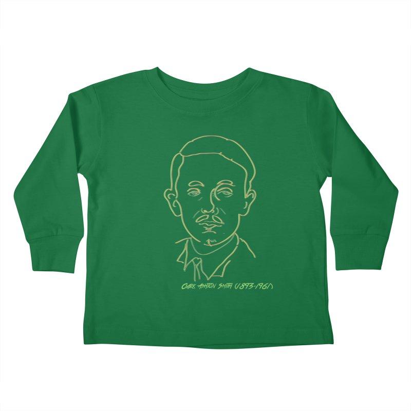 Clark Ashton Smith Kids Toddler Longsleeve T-Shirt by pgttcm's Artist Shop