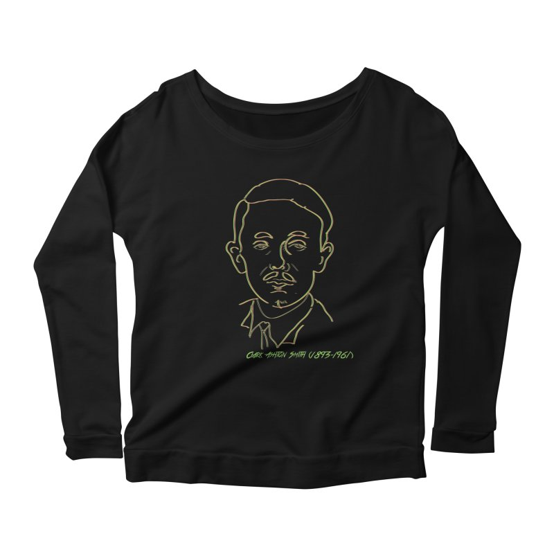 Clark Ashton Smith Women's Scoop Neck Longsleeve T-Shirt by pgttcm's Artist Shop