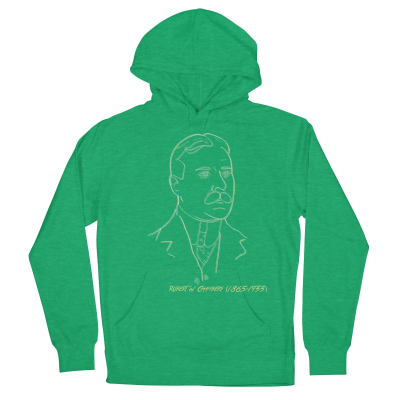 Robert W Chambers Men's French Terry Pullover Hoody by pgttcm's Artist Shop