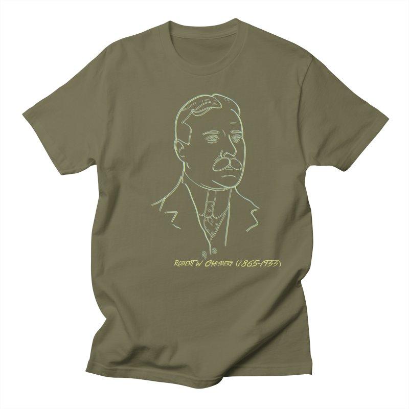 Robert W Chambers Men's Regular T-Shirt by pgttcm's Artist Shop