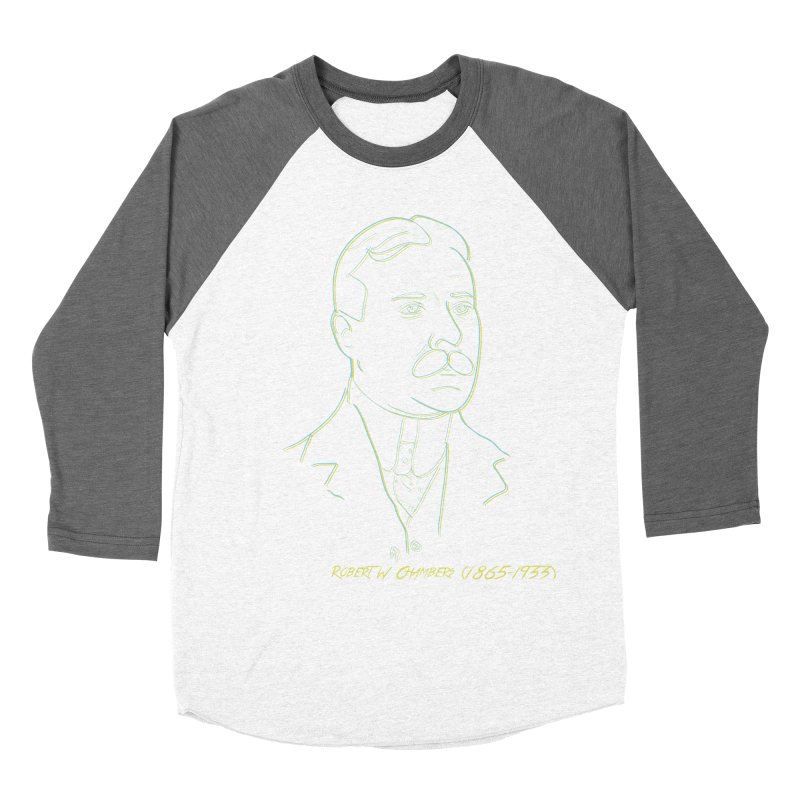Robert W Chambers Women's Baseball Triblend Longsleeve T-Shirt by pgttcm's Artist Shop