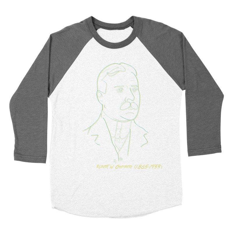 Robert W Chambers Men's Baseball Triblend Longsleeve T-Shirt by pgttcm's Artist Shop