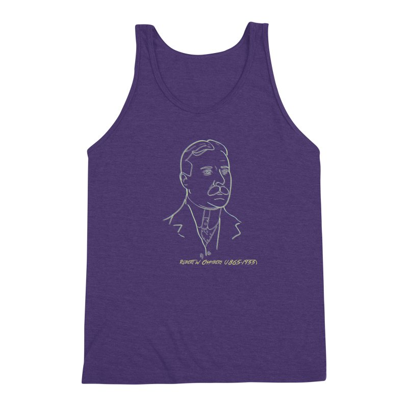 Robert W Chambers Men's Triblend Tank by pgttcm's Artist Shop