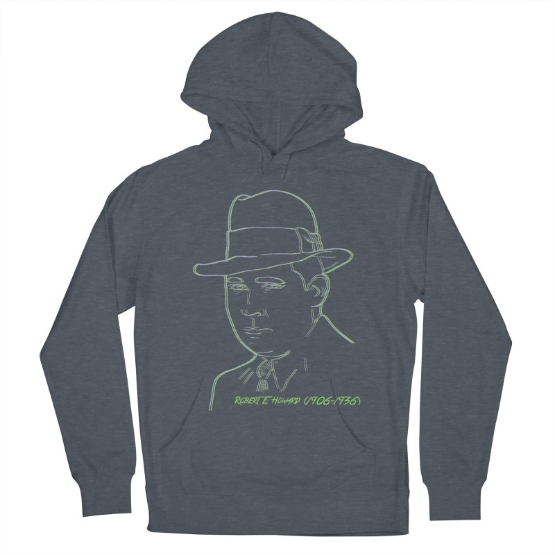 Two Gun Bob Men's French Terry Pullover Hoody by pgttcm's Artist Shop