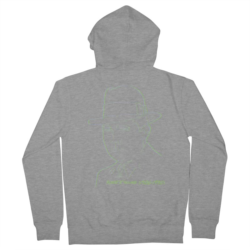 Two Gun Bob Men's French Terry Zip-Up Hoody by pgttcm's Artist Shop