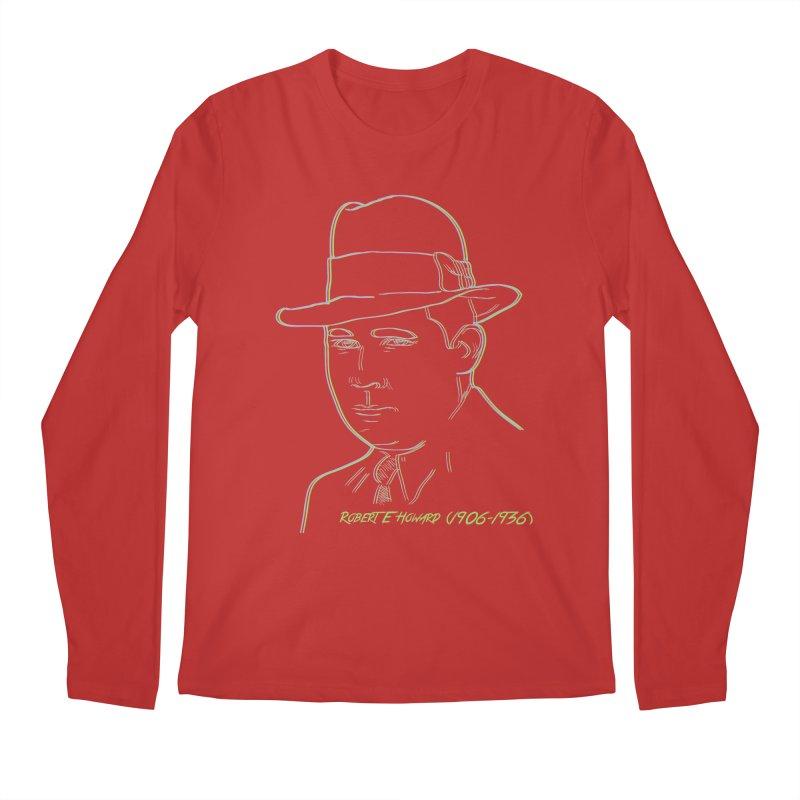 Two Gun Bob Men's Regular Longsleeve T-Shirt by pgttcm's Artist Shop