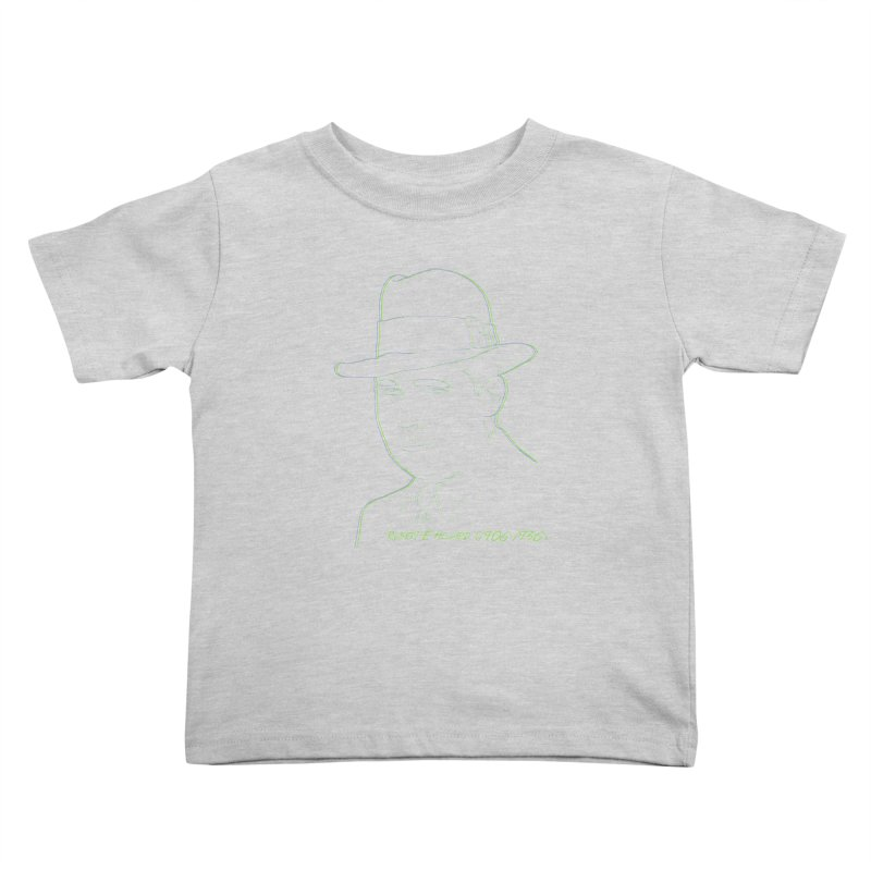Two Gun Bob Kids Toddler T-Shirt by pgttcm's Artist Shop