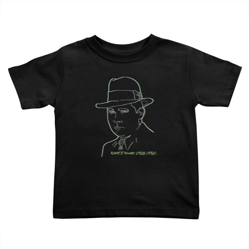 Two Gun Bob Kids Toddler T-Shirt by pgttcm's Artist Shop