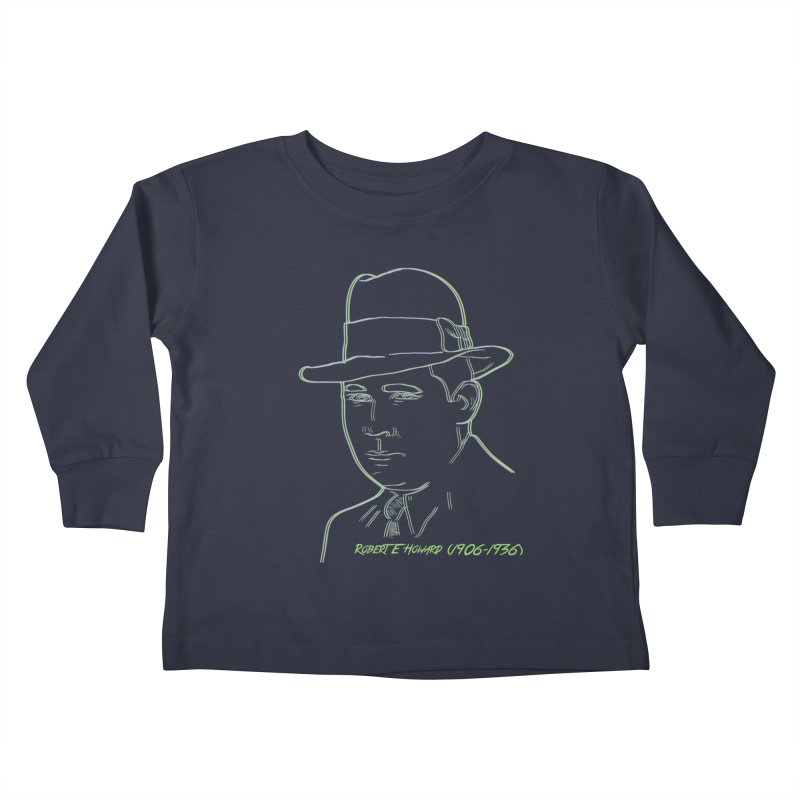 Two Gun Bob Kids Toddler Longsleeve T-Shirt by pgttcm's Artist Shop