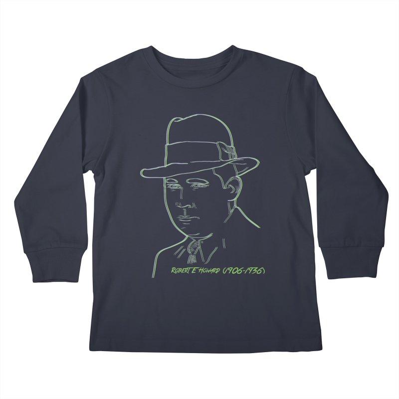 Two Gun Bob Kids Longsleeve T-Shirt by pgttcm's Artist Shop
