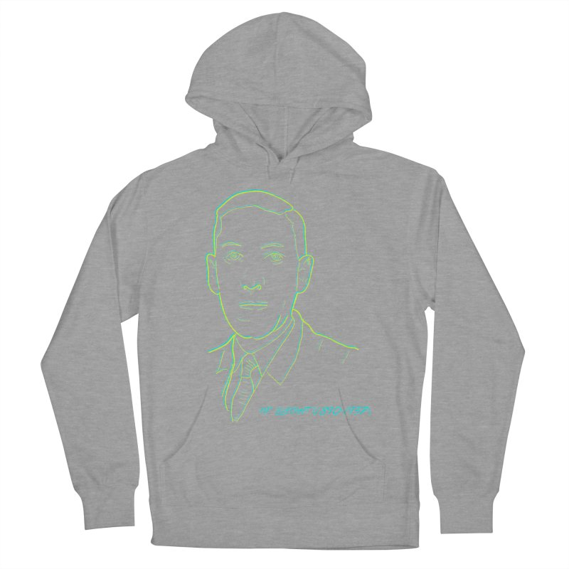 Lovecraft Men's French Terry Pullover Hoody by pgttcm's Artist Shop