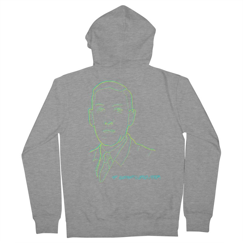 Lovecraft Women's French Terry Zip-Up Hoody by pgttcm's Artist Shop