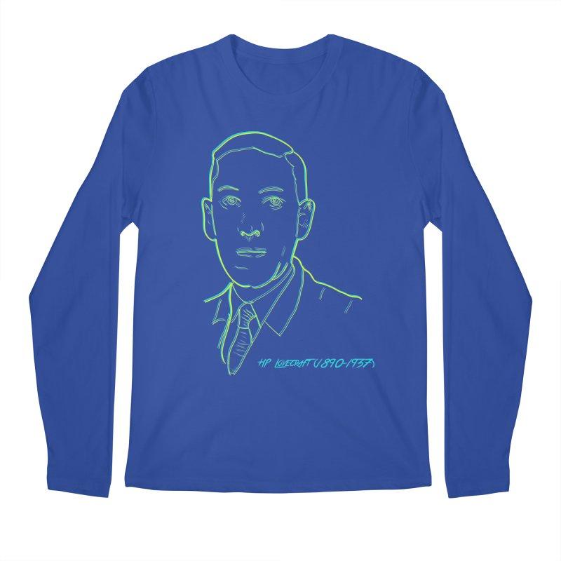 Lovecraft Men's Regular Longsleeve T-Shirt by pgttcm's Artist Shop