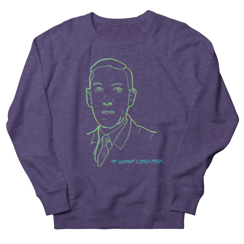 Lovecraft Men's French Terry Sweatshirt by pgttcm's Artist Shop