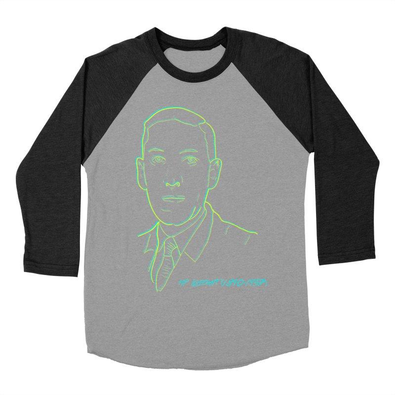 Lovecraft Women's Baseball Triblend Longsleeve T-Shirt by pgttcm's Artist Shop