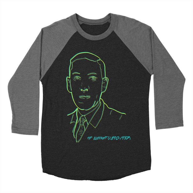 Lovecraft Men's Baseball Triblend Longsleeve T-Shirt by pgttcm's Artist Shop