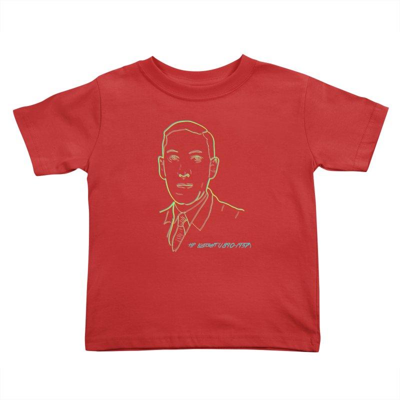 Lovecraft Kids Toddler T-Shirt by pgttcm's Artist Shop