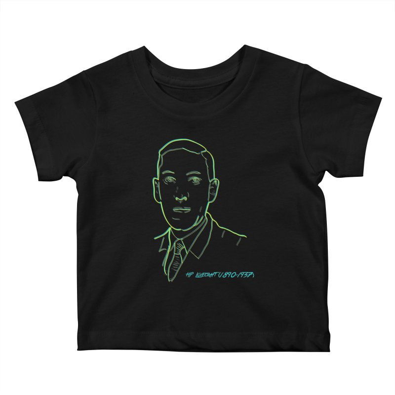 Lovecraft Kids Baby T-Shirt by pgttcm's Artist Shop