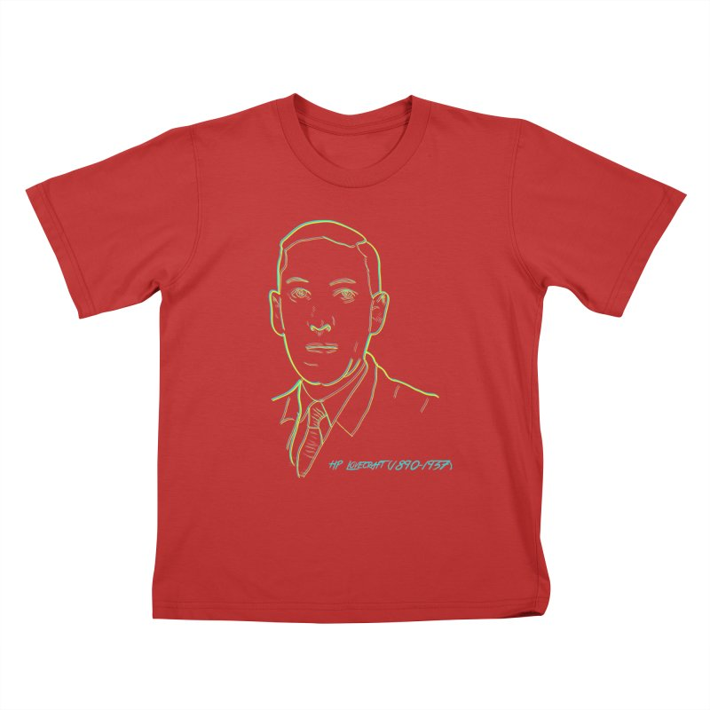 Lovecraft Kids T-Shirt by pgttcm's Artist Shop