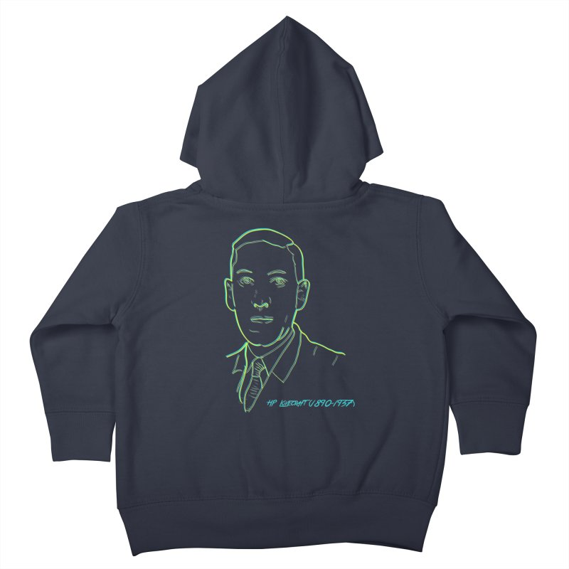 Lovecraft Kids Toddler Zip-Up Hoody by pgttcm's Artist Shop