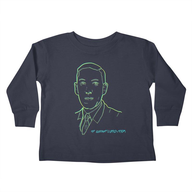 Lovecraft Kids Toddler Longsleeve T-Shirt by pgttcm's Artist Shop