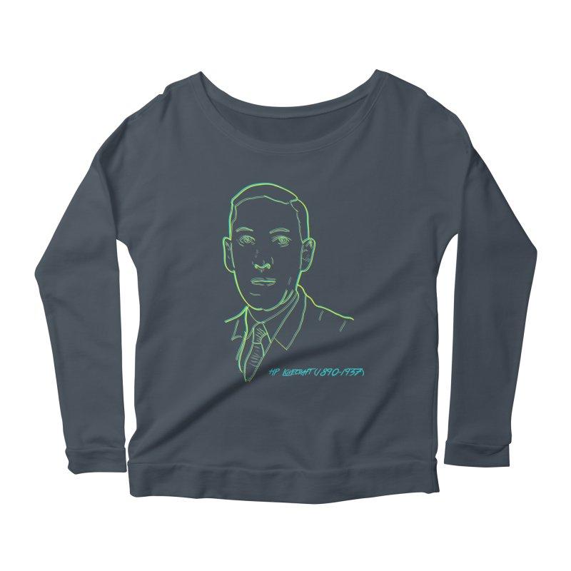 Lovecraft Women's Scoop Neck Longsleeve T-Shirt by pgttcm's Artist Shop