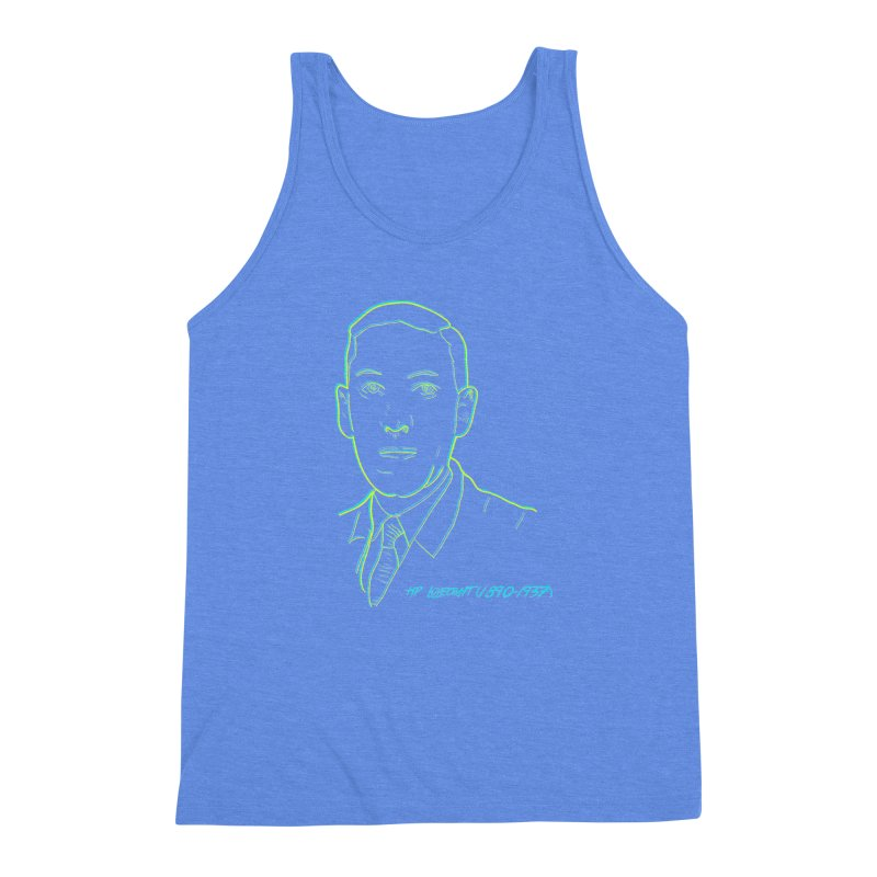 Lovecraft Men's Triblend Tank by pgttcm's Artist Shop