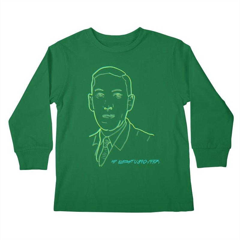 Lovecraft Kids Longsleeve T-Shirt by pgttcm's Artist Shop