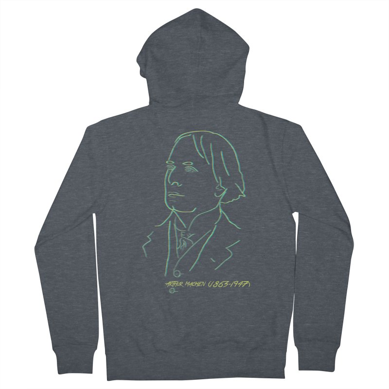 Welsh Sex Wizard Men's French Terry Zip-Up Hoody by pgttcm's Artist Shop
