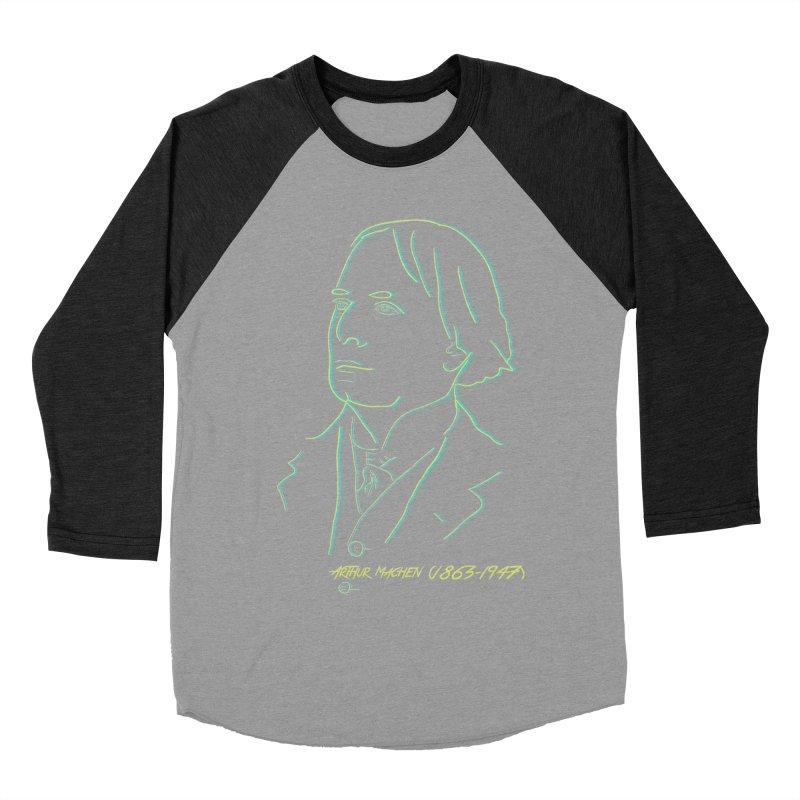 Welsh Sex Wizard Men's Baseball Triblend Longsleeve T-Shirt by pgttcm's Artist Shop