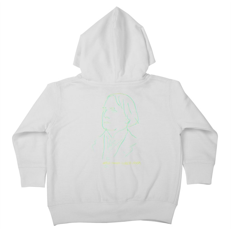 Welsh Sex Wizard Kids Toddler Zip-Up Hoody by pgttcm's Artist Shop