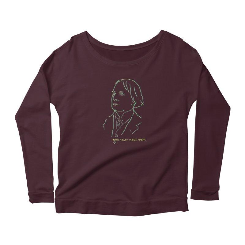 Welsh Sex Wizard Women's Scoop Neck Longsleeve T-Shirt by pgttcm's Artist Shop
