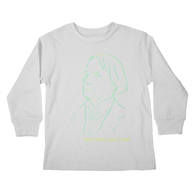Welsh Sex Wizard Kids Longsleeve T-Shirt by pgttcm's Artist Shop