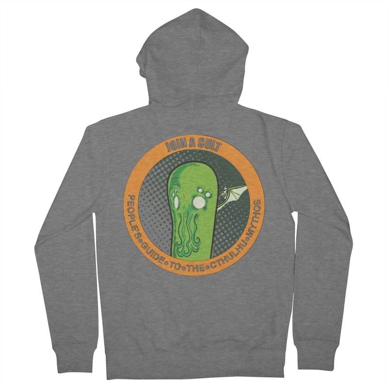 JOIN A CULT(pgttcm 2019) Men's French Terry Zip-Up Hoody by pgttcm's Artist Shop