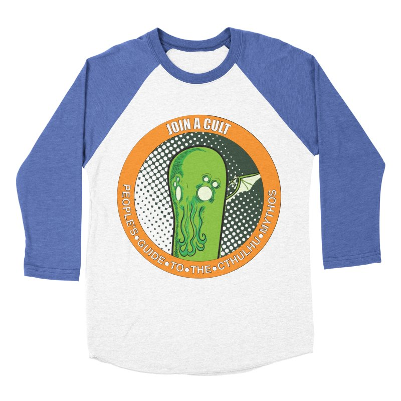JOIN A CULT(pgttcm 2019) Men's Baseball Triblend Longsleeve T-Shirt by pgttcm's Artist Shop