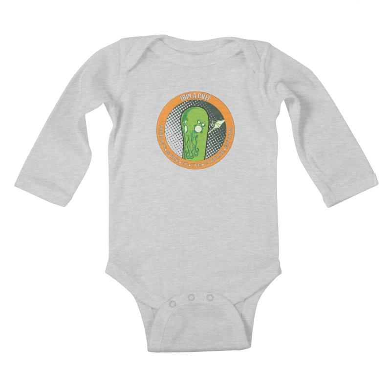 JOIN A CULT(pgttcm 2019) Kids Baby Longsleeve Bodysuit by pgttcm's Artist Shop