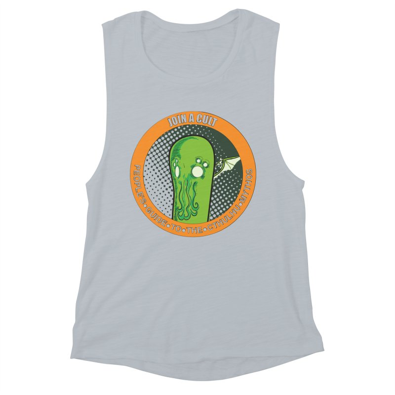 JOIN A CULT(pgttcm 2019) Women's Muscle Tank by pgttcm's Artist Shop