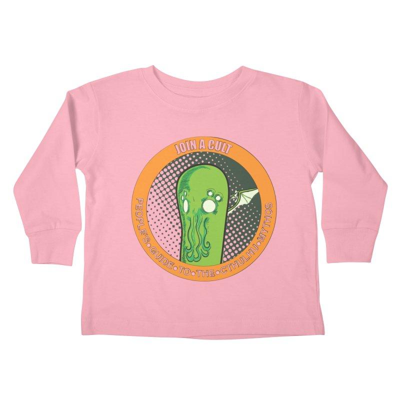 JOIN A CULT(pgttcm 2019) Kids Toddler Longsleeve T-Shirt by pgttcm's Artist Shop