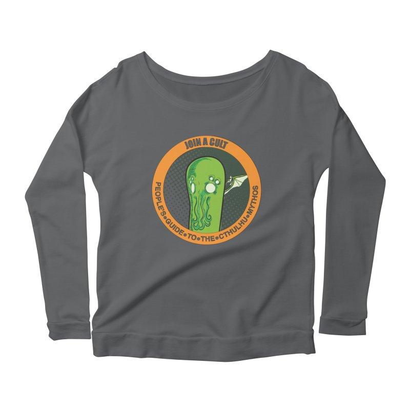 JOIN A CULT(pgttcm 2019) Women's Scoop Neck Longsleeve T-Shirt by pgttcm's Artist Shop