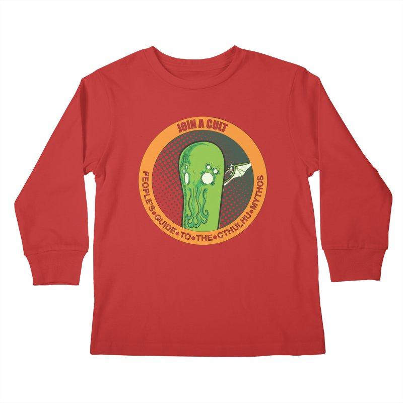 JOIN A CULT(pgttcm 2019) Kids Longsleeve T-Shirt by pgttcm's Artist Shop
